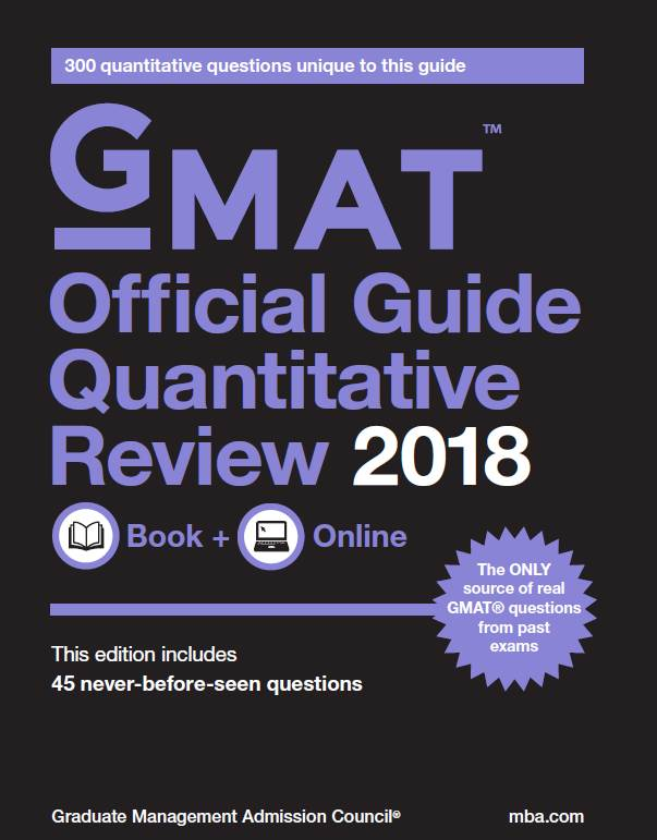 GMAT Official Guide Quantitative