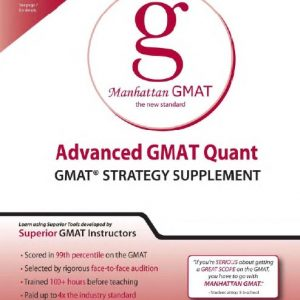 Manhattan Advanced GMAT Quant