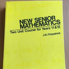 fitzpatrick 2 Unit Course Mathematics